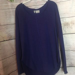 Athleta Purple Long Sleeve Top with Thumb Holes